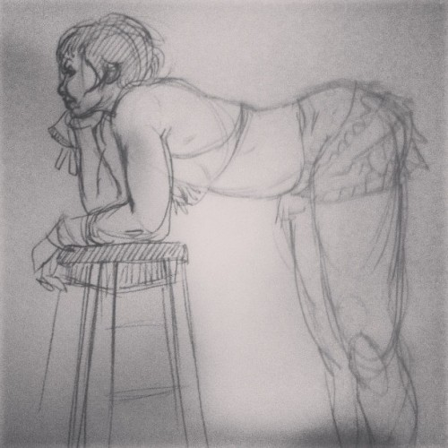 #figure #drawing at society of illustrators. #illustration #art #sketch