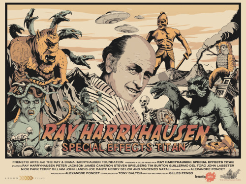 R.I.P. Ray Harryhausen and THANK YOU for everything you did.
