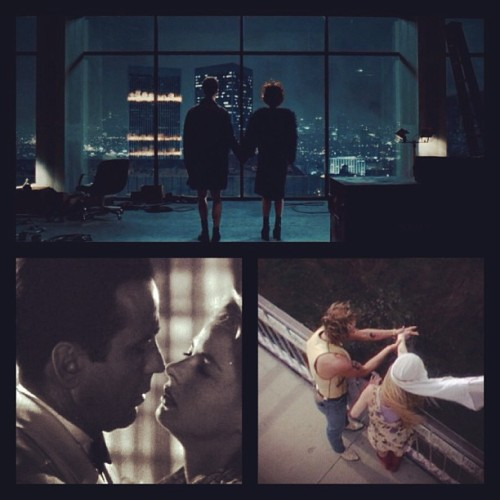 Romance. Defined. #fightclub #casablanca #naturalbornkillers #romance