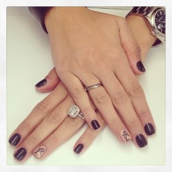 Sneak peak at @mandanadayani's #LuckyFABB nails (by @chinailbar / @princesslexiii) 💅