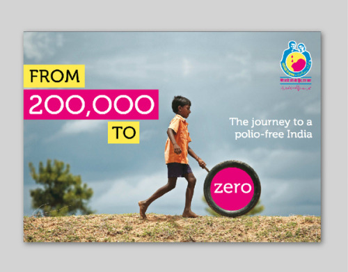 India polio-free for 2 years! The last mile is always the toughest, but once eradicated, it will be a gift to every child ever born to humanity evermore - Dr. Tom Frieden. Graphic by Saurabh Kumar India | Polio