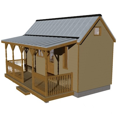 Humblebee Porch Tiny House Plans with Side EntranceThe Humblebee Porch tiny house plans are great because they're livable. With a total of…View Post