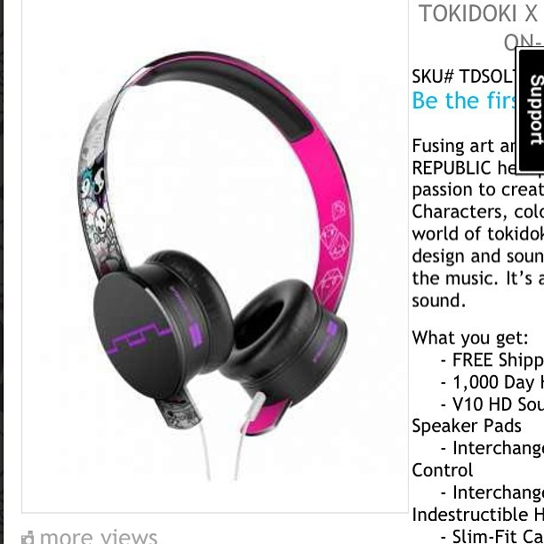 Yeahhhhh I'm DEFINITELY going to get these my next check! :) #ideserveit #tokidoki @tokidokibrand