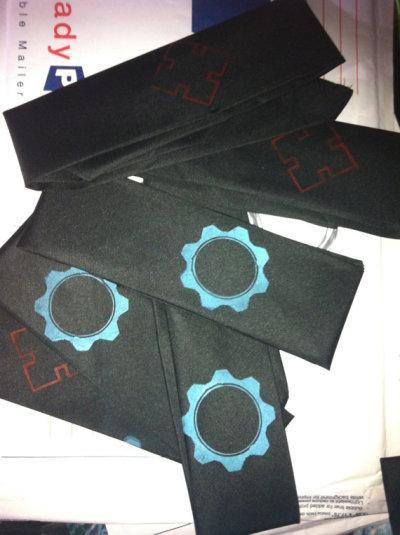 My Gears of War bandanas are now on my Etsy! Go get some!!