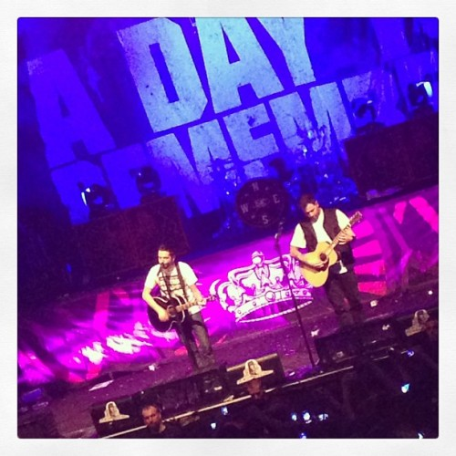 #adaytoremember never a disappointing show.