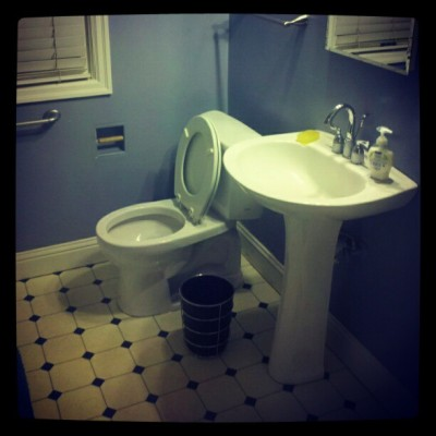 My potential future throne. Joey's, SE Portland #toilet, #bathroom, #pdx