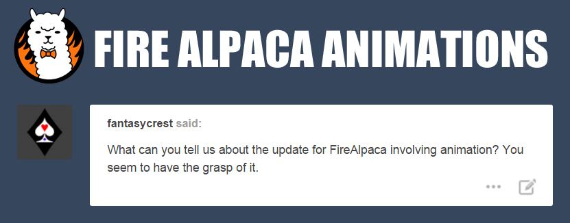animation photoshop fire alpaca virtualdub fantasycrest blue-ten •
