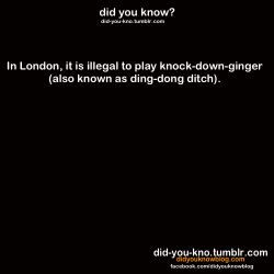 did-you-kno:  Source  I think I like calling it Knock Down Ginger better…