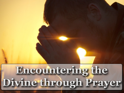 Encountering the Diving Through Prayer: Christ is alive – we are resurrection people!  We now enter into the great 50 days of Easter – in which the disciples encountered the living presence of Christ.  We are beginning a yearlong focus on prayer.  Our Sermon Series for the 50 days of Easter will be: Encountering The Divine Through Prayer.  We will look at how the disciples talked with, and related to the resurrected Christ, and how that might inform our prayer life.  We will examine what Jesus taught about prayer.  During the 50 Days of Easter we will be unpacking some of the problems of prayer, how we do it, what it means, how can it be meaningful part of our lives and not just another thing we have to add to a 'to -do list'?    We will explore different ways of praying that may be more suited to our participate personality or situation in life.