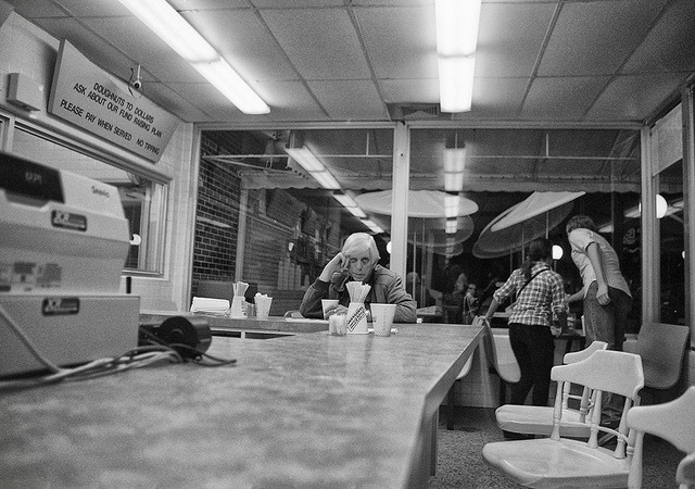 After midnight… on Flickr.Via Flickr: Gainesville. January 2013. scanned 35mm. It always feels good to get out of Daytona. It feels even better with your camera by your side.