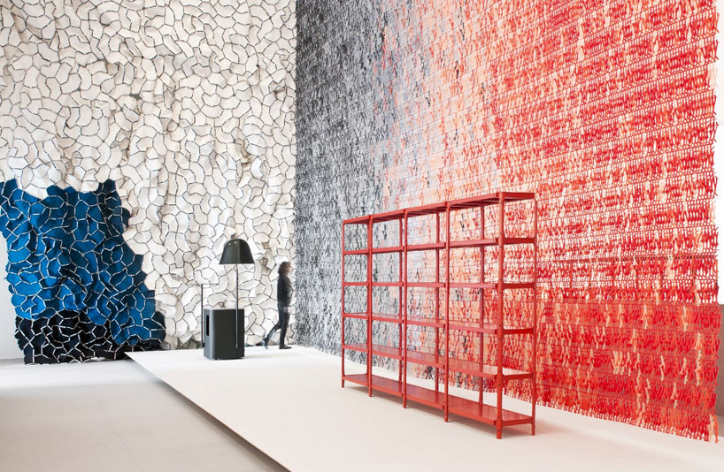 Bouroullec Brothers: Paris exibition at Les art decoratifs (architecture textile area) BOUROULLEC RULES xD