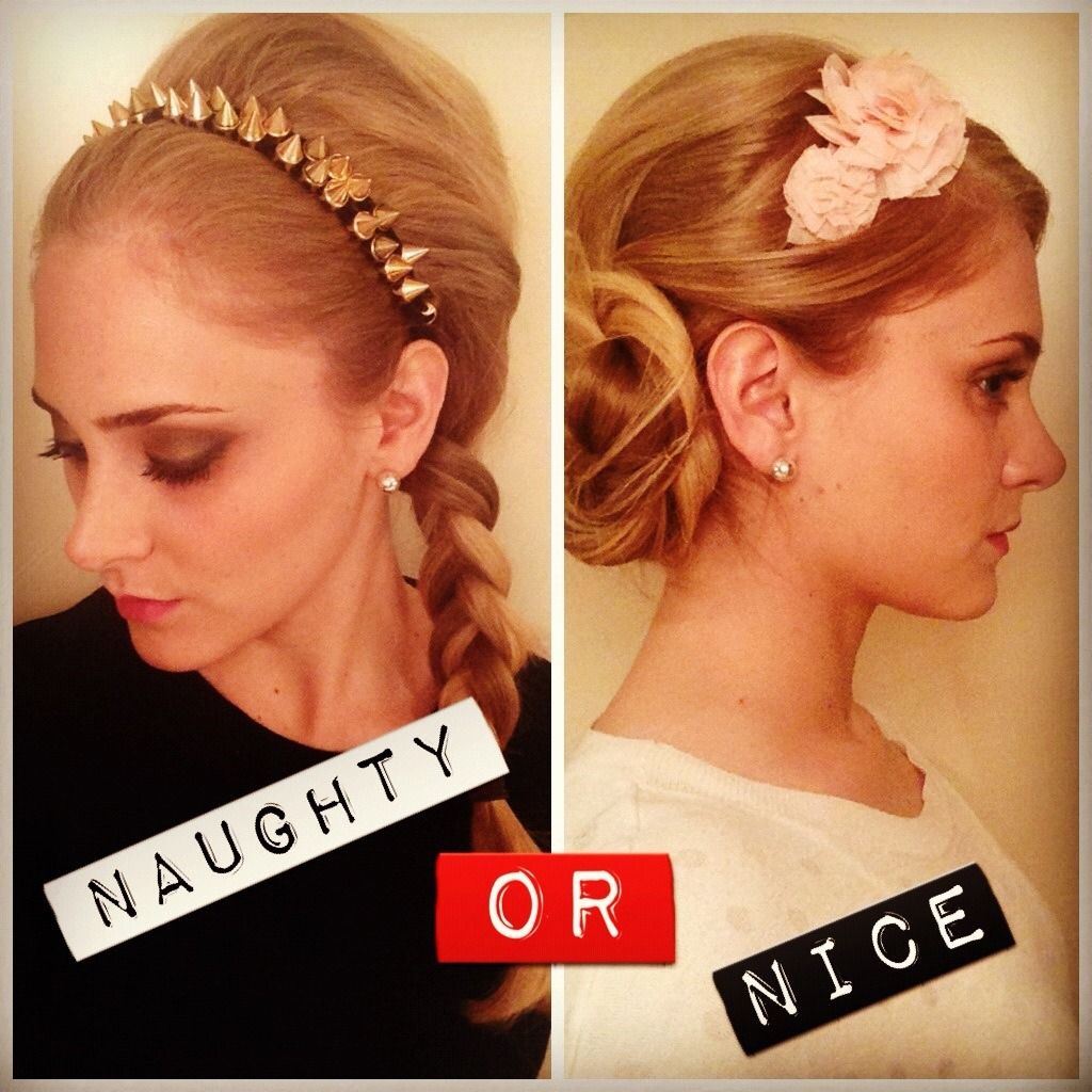 Have you been Naughty or Nice? Which tutorial would you like to see?