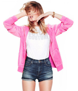 stormtrooperfashion:  Maryna Linchuk for Juicy Couture 2013