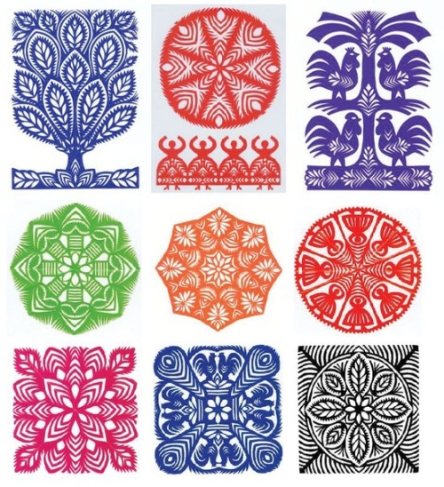 ornaments-of-the-world:  Wycinanki Polish paper craft http://pinterest.com/pin/284430532686305783/