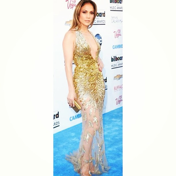 @jlo keepin it 100 #JLo styled by #RandM short but not. Cocktail but Gown…