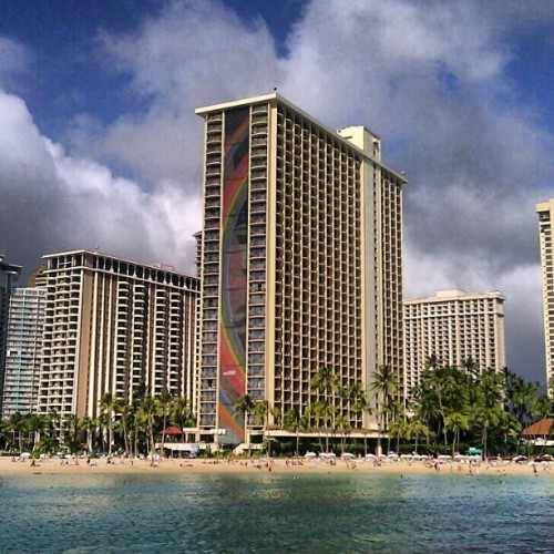Rainbow Tower, Hilton Hawaiian Village.