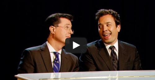 Let this piano duet between Jimmy Fallon and Stephen Colbert warm your heart. Click here to watch!