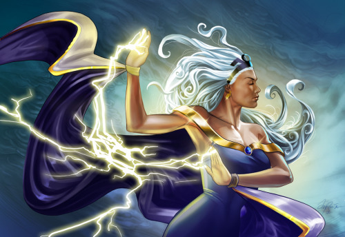 youngjusticer:  Talk to the hands. Storm, by Ty Romsa.