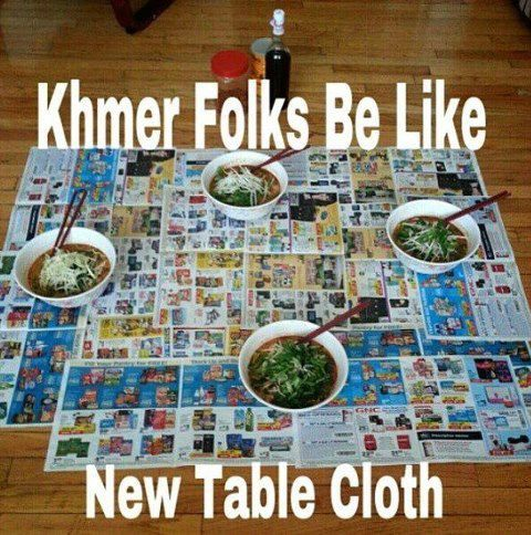doeur:  Truuuu.  lmao. this is when we eat crab, but on top of a kathel lol -___- like we don't clean it afterwards anyway…