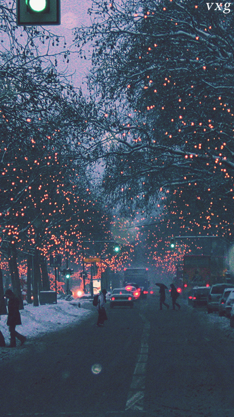 christmas light iphone wallpaper tumblr-#29