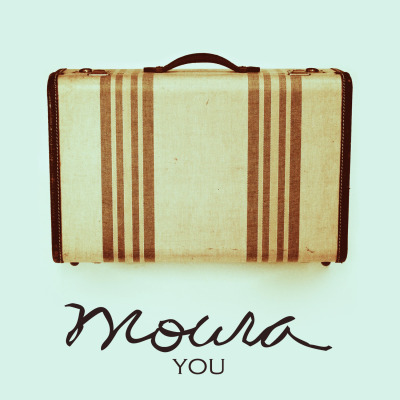"the new single from moura.click the art to listen to ""you"" now!"