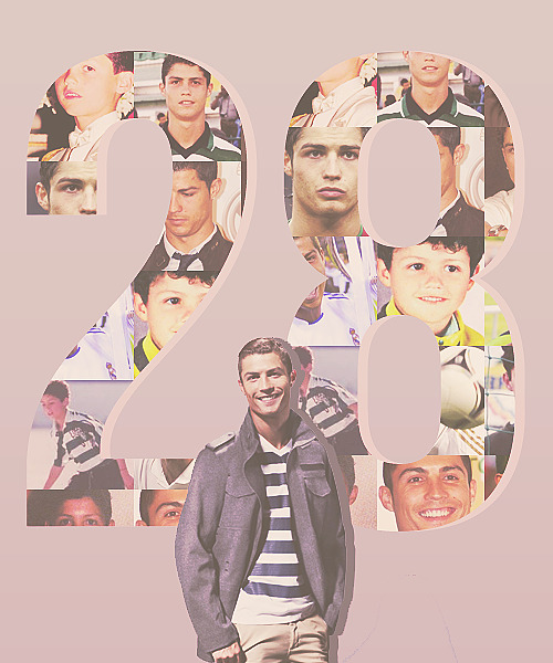 Happy 28th Birthday, Cristiano Ronaldo!