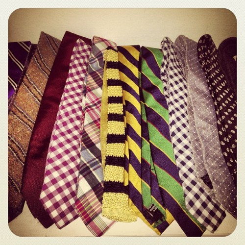 Warm to cool always.  #ties #closet #jcrew #originalpenguin #mensfashion