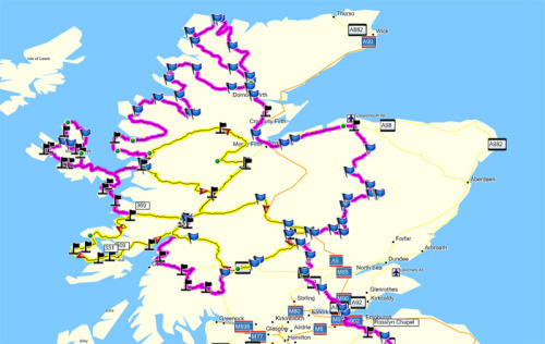Great Scotland Tour…. Gonna do this on my own in a couple months :D