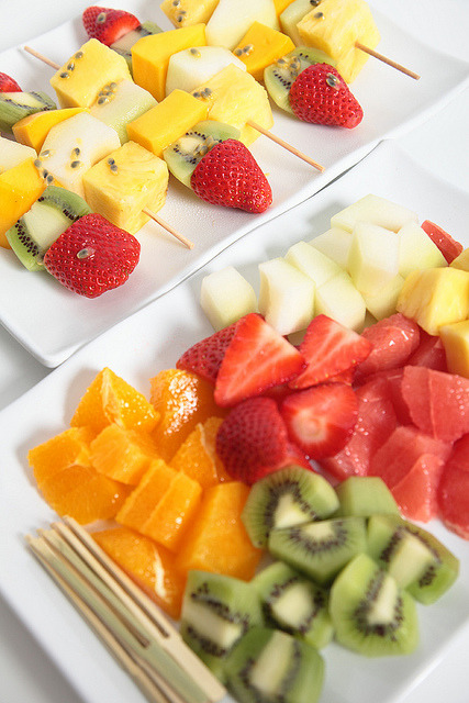 fruit platter by Creative Commercial Photography on Flickr.