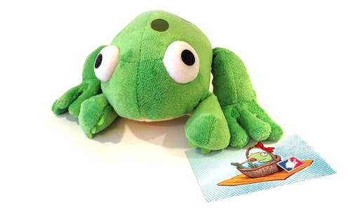 tysonhesse:  http://www.kickstarter.com/projects/1673195448/the-make-a-frog-project For as long as I've been making Boxer Hockey, people have been begging me to make stuffed frogs. Well that stuff's expensive, maaaan. Luckily, TopatoCo has stepped in and offered to handle the production, stocking, and shipping of a thousand of the little buggers, but we gotta pay for 'em first!Click the link above to check out the Kickstarter featuring a fun video put together by me and narrated by Arin Hanson of Egoraptor fame.  It's our new Make That Thing project! He is even cuter in person, I mean frog.