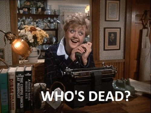 "eatbloganddie:  BuzzFeed: 16 Reasons You MUST Revisit ""Murder, She Wrote"""