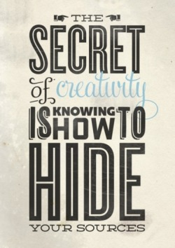 The Secret of Creativity