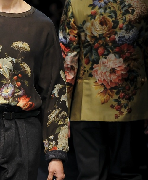 Dolce and Gabbana menswear f/w 2013