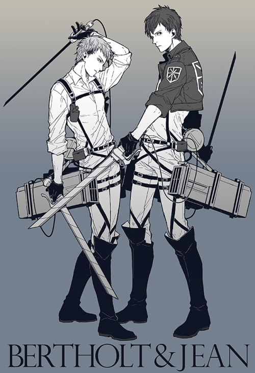 tsuuyoi:  reiner—braun:  AOT-log by 1no