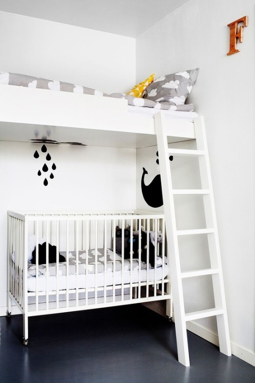 shared kids room (via Kids' room)