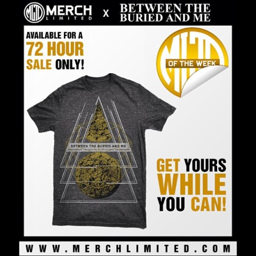 Exclusive design available at merchlimited.com for a limited time only!