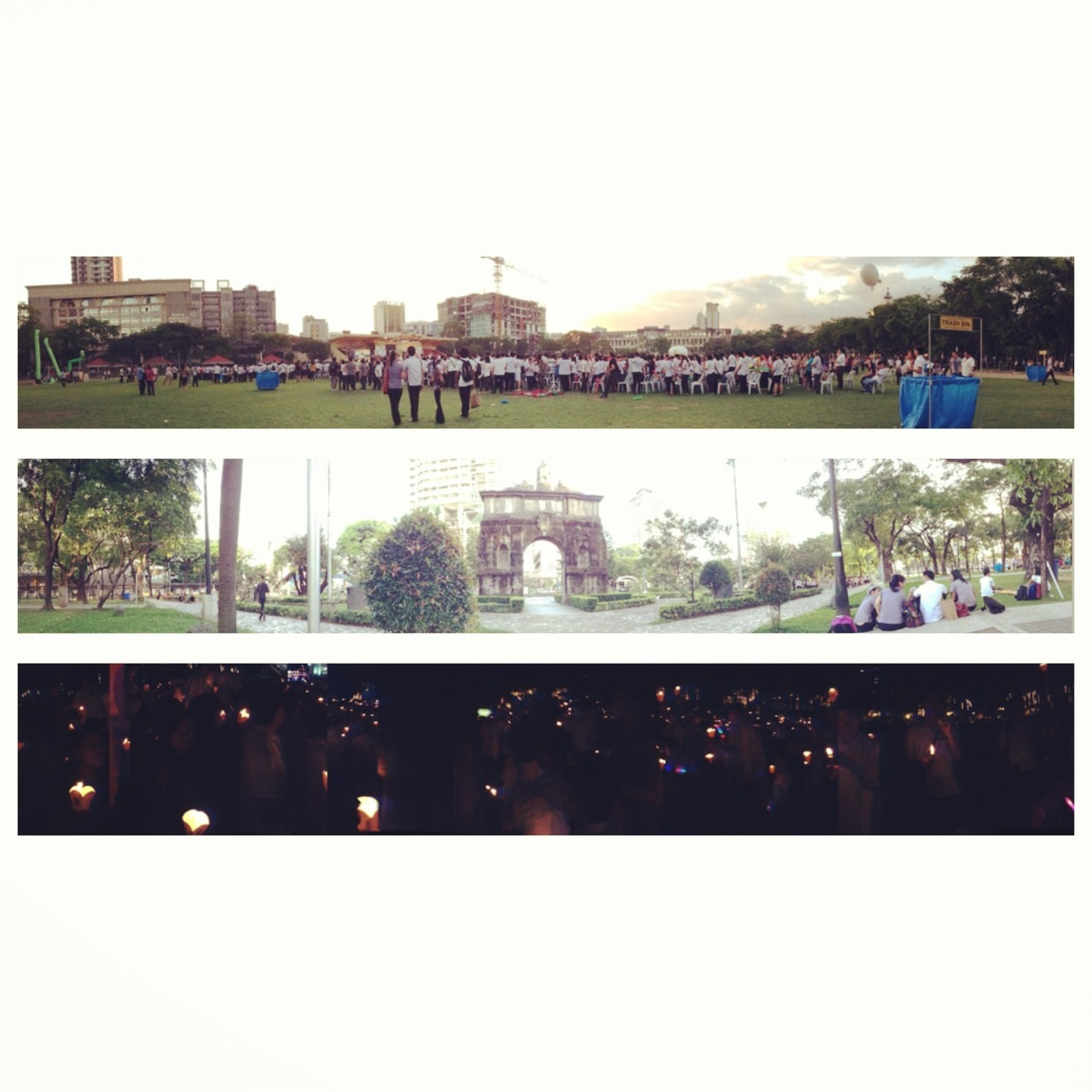 Took panoramas of today's activities! Meet the Parents, Baccalaureate Mass and Exit Walk! Everything was so overwhelming. ❤ I can really feel that graduation is very near! I'll post a more detailed blog entry soon! As of now, I'm dead tired. :(