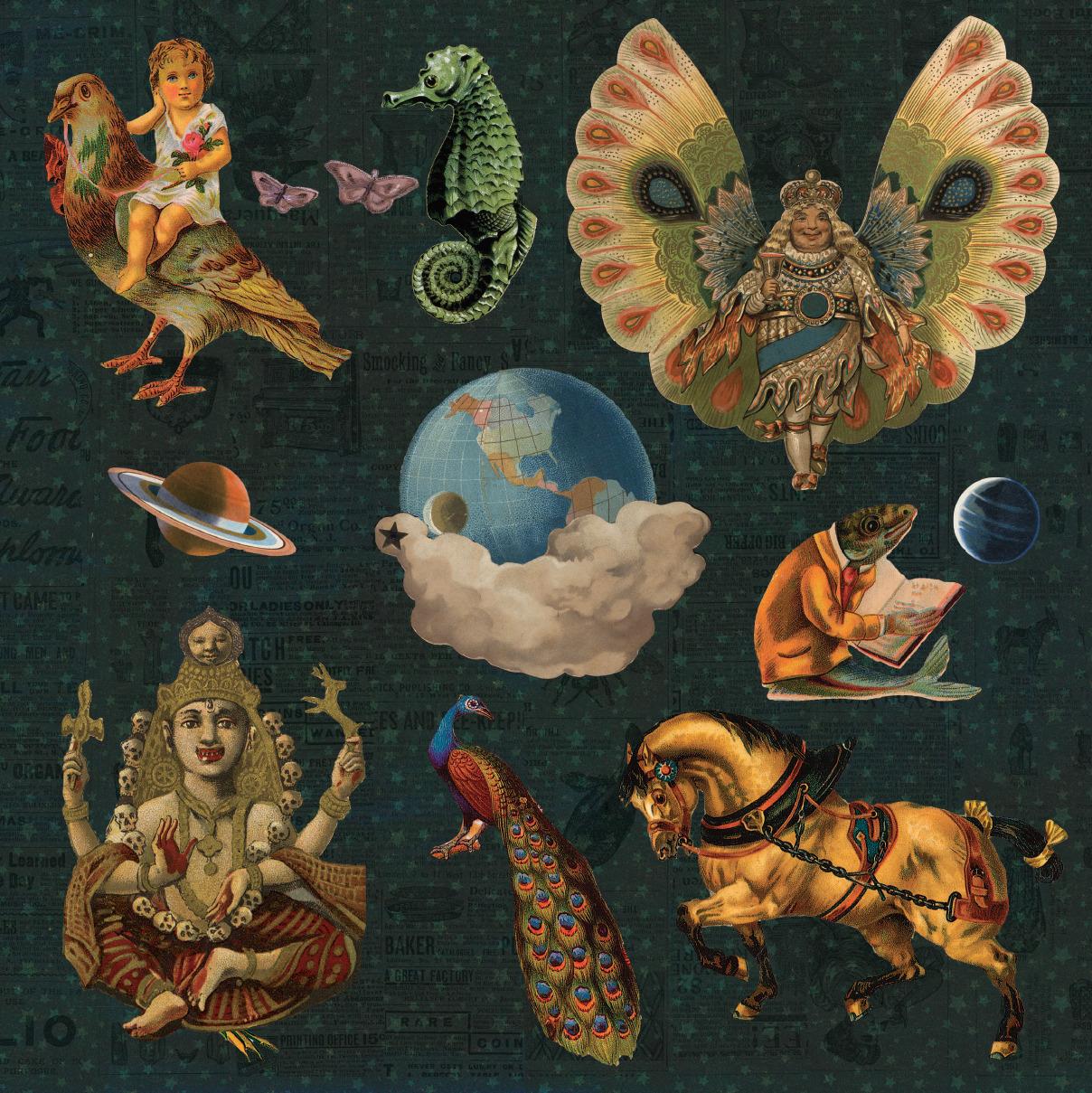 Smashing Pumpkins Mellon Collie and the Infinite Sadness esoteric VideMellon Collie And The Infinite Sadness Back