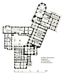 archimaps:  Floor plan of the Märkisches Museum, Berlin