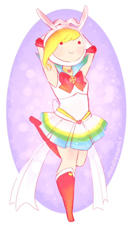 doodlemancy:  It's Magical Girl May, so here's Super Sailor Fionna!