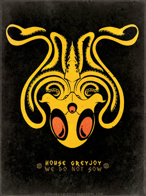 Game of Thrones/Pokemon House Sigils mashup by Kaikoa