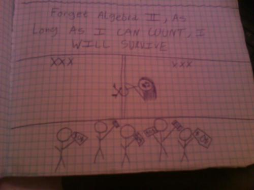 honeybunchesofgoatss:  so.. my algebra II notes  Agreed