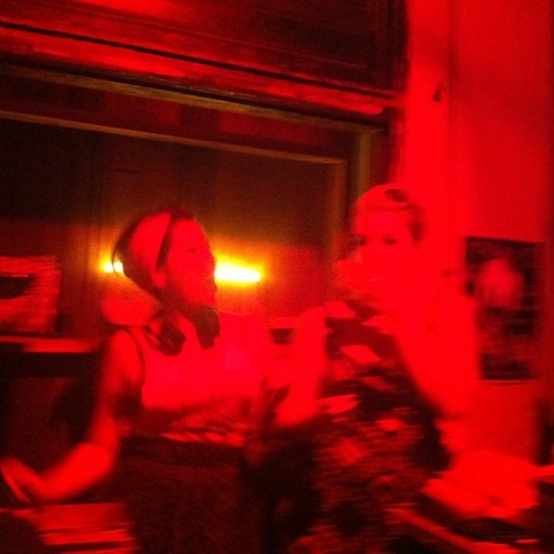 #heelsondecks action shot thanks to @jo_anneserra #dj #melbourne #music #potatocake #rock #rocknroll Facebook.com/heelsondecks