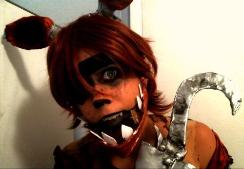 Fnaf foxy cosplay