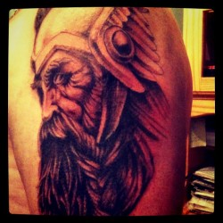 J irai tatouer mon daron session #2 #tattoo #johnny #viking #daron