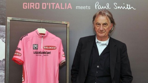 The Maglia Rosa designed by Paul Smith [ko]