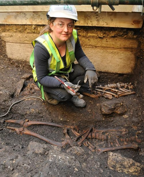mediumaevum:  1,000-year-old church discovered under Lincoln castle Experts believe that the church is one of the most important archaeological finds in Britain, as it pre-dates both the castle and the Norman Conquest. The Telegraph BBC The Lincolnite