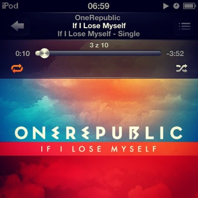 If i can't #sleep i wanna #hear #ipod #one #republic #music