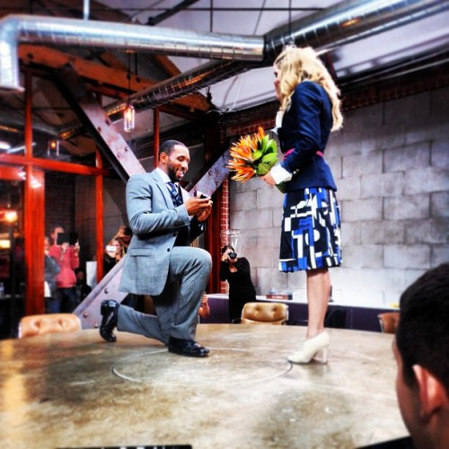 allisonholkerfans:  A picture of the proposal from Twitch's Instagram :)  January 20, 2013 marks the next chapter of our life together   <3