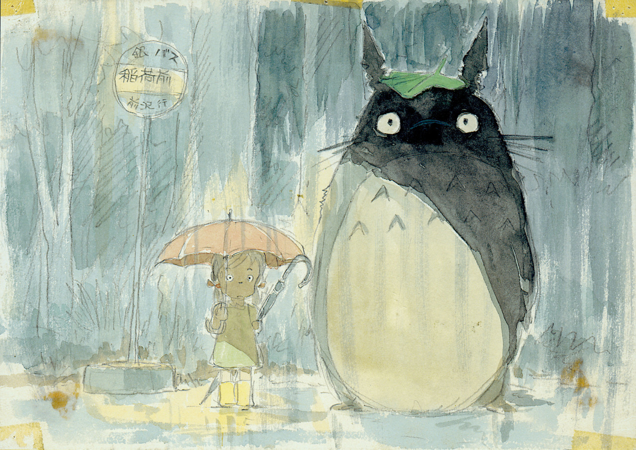 marilu-lu:  My Neighbor Totoro by Moebius